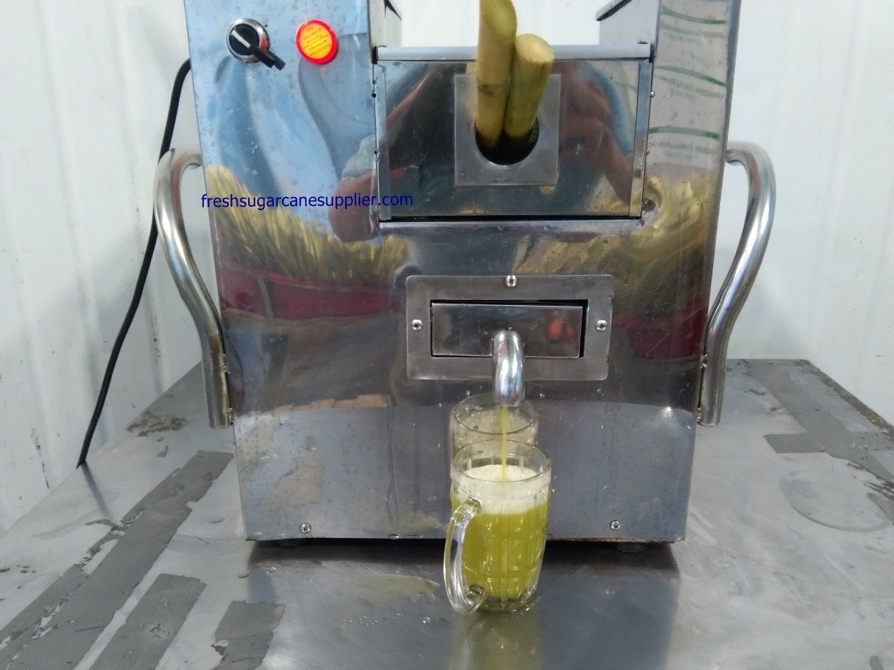Sugarcane juice in Vietnam